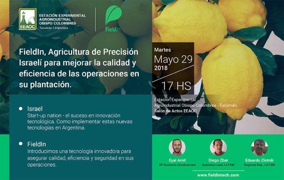 Jornada de Agricultura de precisión aplicada a los citrus