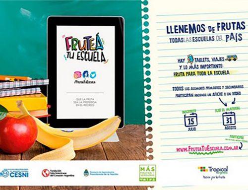 Argentina: Un concurso para concienciar sobre alimentación saludable en las escuelas