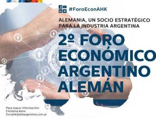 2° Foro Económico Argentino-Alemán