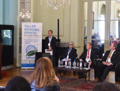 Argentina y Australia buscan expandir cooperación sobre e-phyto en la región
