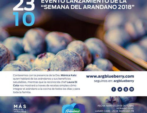 """Evento lanzamiento de la """"Semana del arándano 2018"""""""