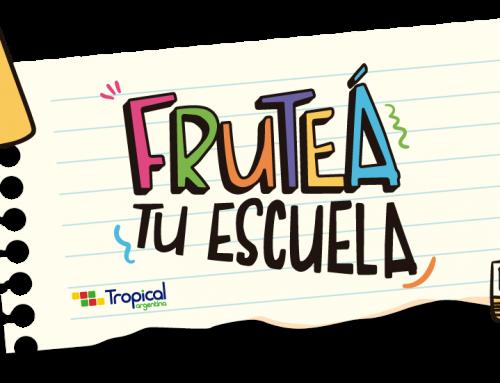 ¡Más de 12000 alumnos de todo el país llenaron de frutas sus escuelas!