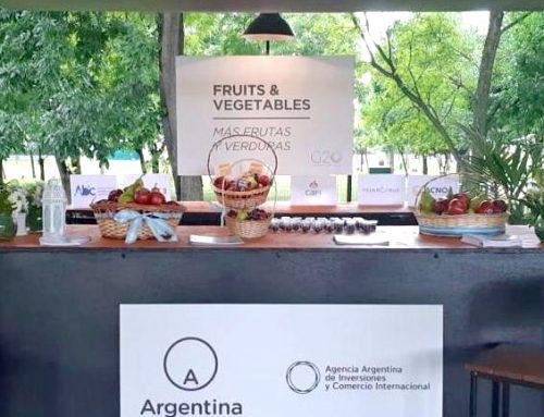 MORE FRUITS & VEGETABLES: FEDERCITRUS junto a MAS FRUTAS Y VERDURAS presente en el G20