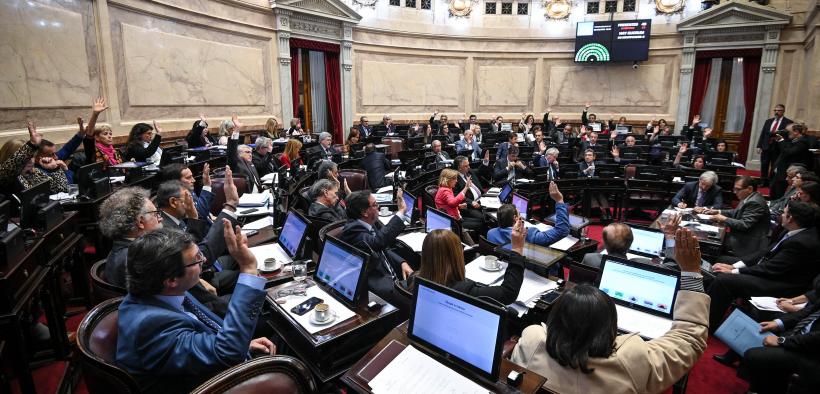 El Senado aprobó la ley que declara la emergencia en toda la producción citrícola