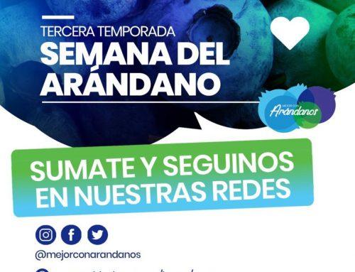 """ARGENTINA VUELVE A CELEBRAR """"LA SEMANA DEL ARÁNDANO"""" TERCERA TEMPORADA"""