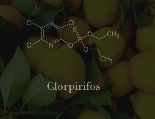 La UE vetará la importación de fruta tratada con clorpirifos