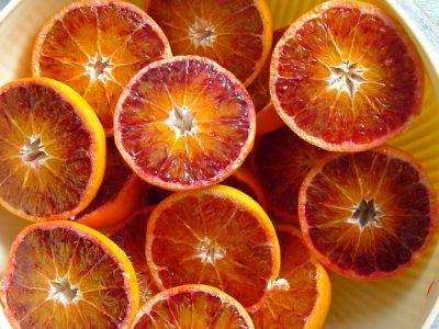 mandarinas de pulpa roja