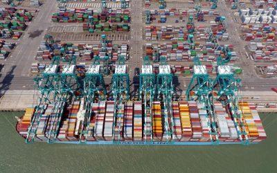 Preocupa congestión de contenedores en Filipinas e India