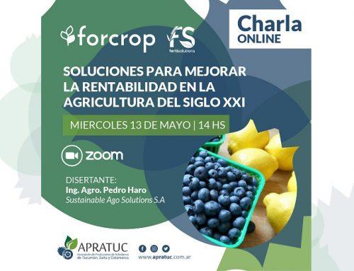 Soluciones para mejorar la rentabilidad en la Agricultura del siglo XXI – Charla online