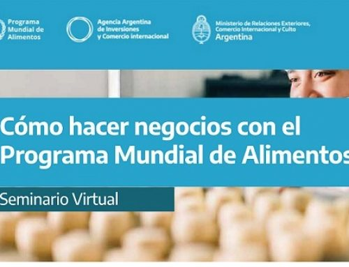Cómo hacer negocios con el Programa Mundial de Alimentos. Seminario Virtual. 21 y 23 de julio, de 9 a 11hs (ARG)