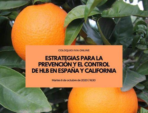 Estrategias para la prevención y control de HLB en España y California