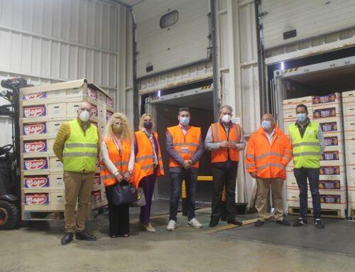 Primer envío de prueba de 11 contenedores de naranjas españolas a La India con tratamiento de frío en tránsito