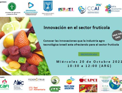 Congreso: La agro tecnología como herramienta para el desarrollo del sector frutícola